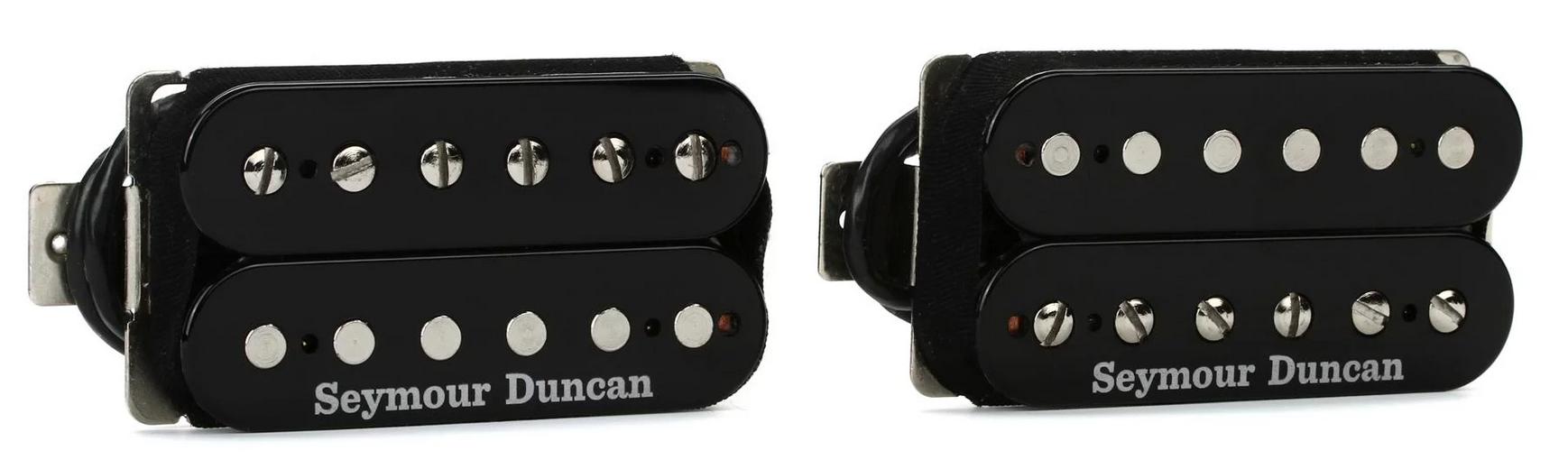 Seymour Duncan Hot Rodded Humbucker Pickup Set, Black