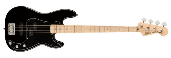 Fender Squier Affinity PJ Bass, MN, Black