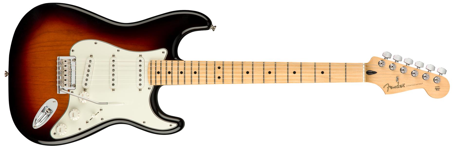 Fender Player Stratocaster, MN, 3 Tone Burst