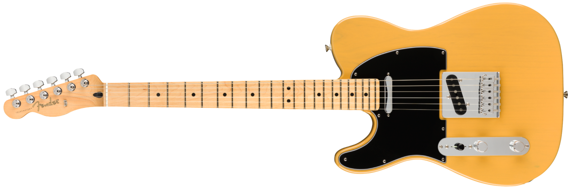 Fender Player Left-handed Telecaster, MN, Butterscotch Blonde