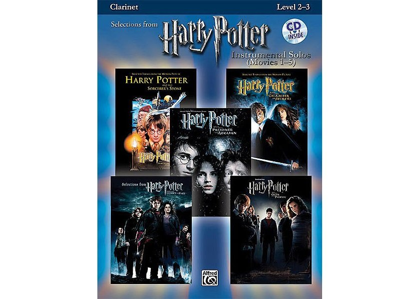 Selections from Harry Potter Instrumental Solos (Movies 1-5) - Clarinet