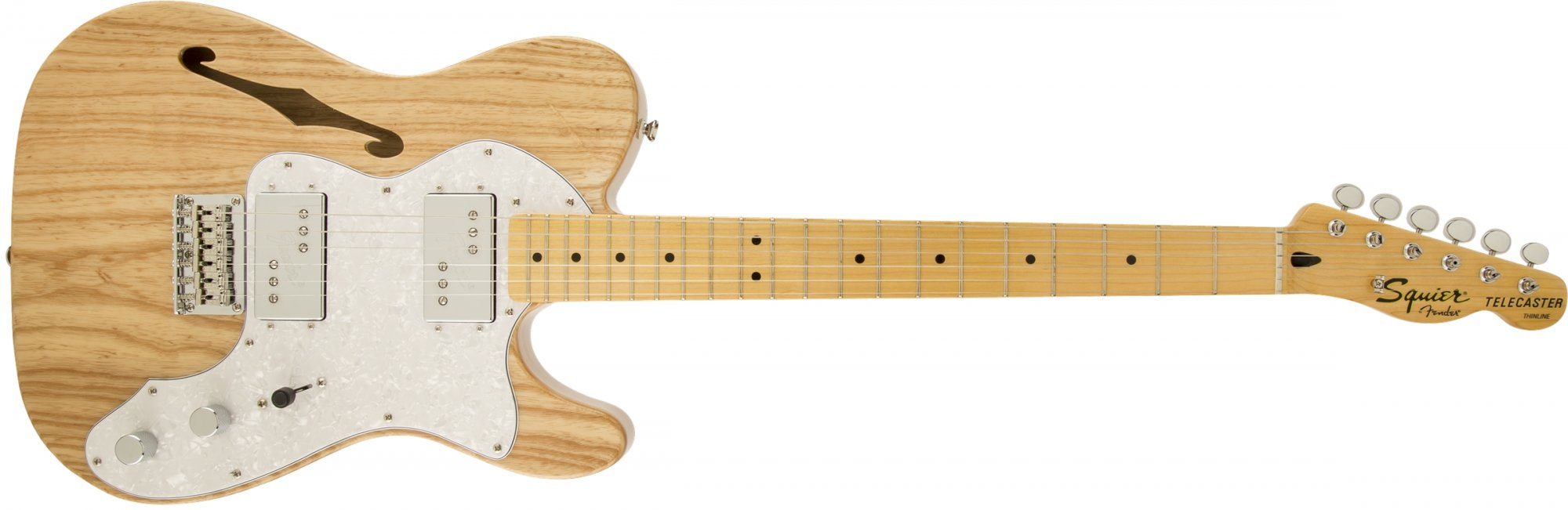 Fender Squier Vintage Modified 72 Thinline Telecaster MN Natural