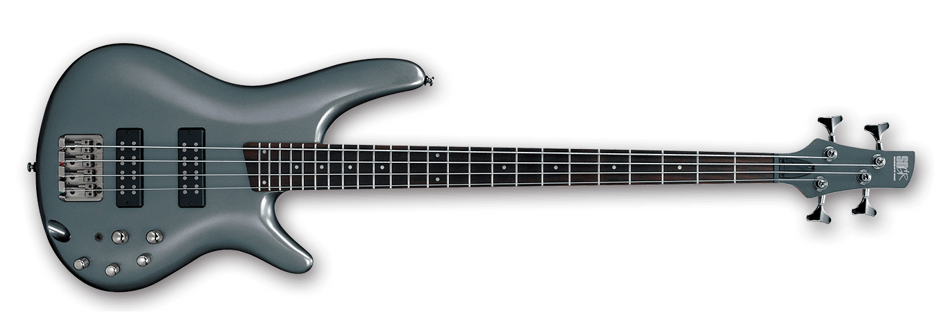 Ibanez SR300E Electric Bass, Metallic Grey