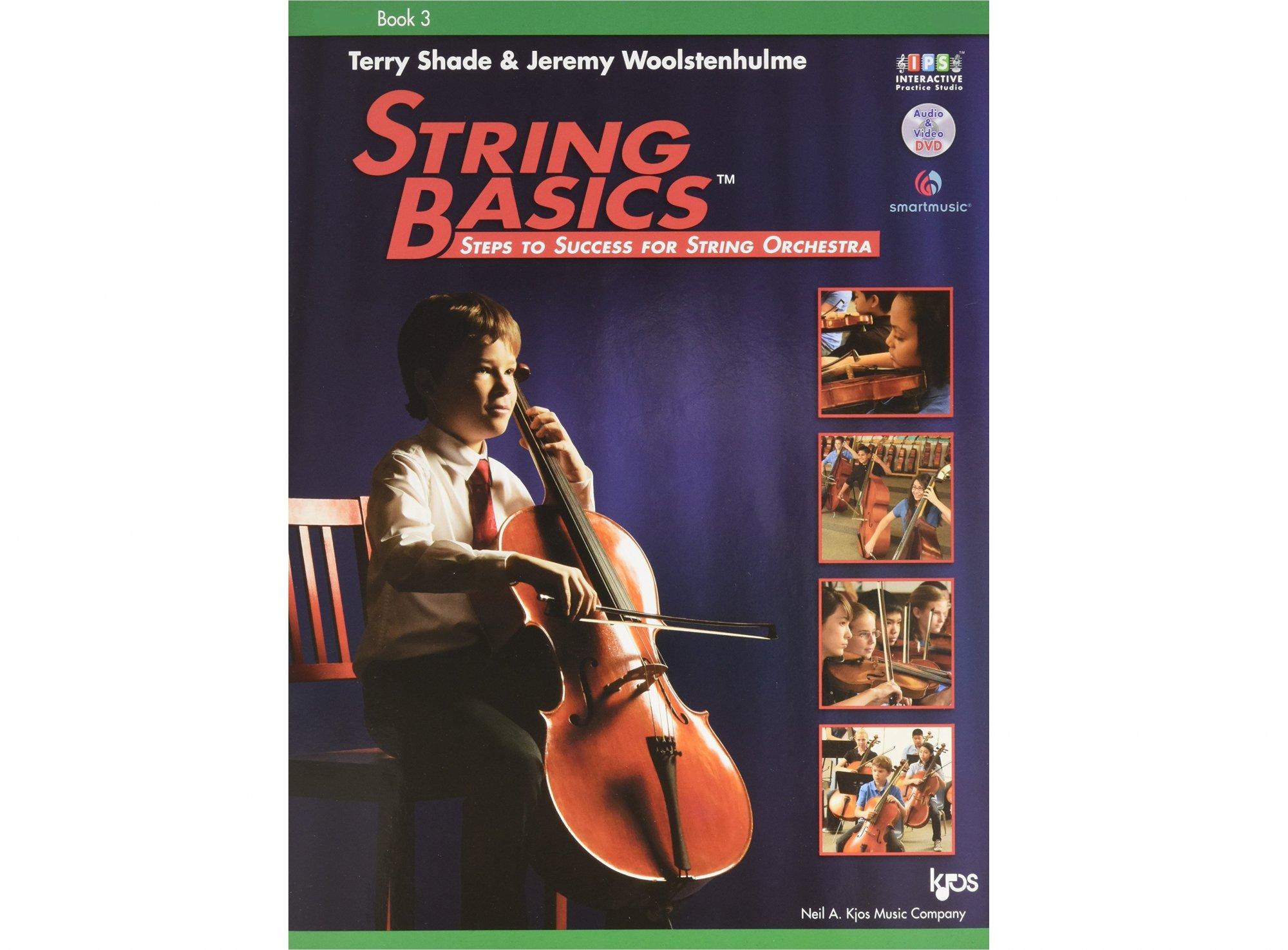 String Basics Book 3 - Cello