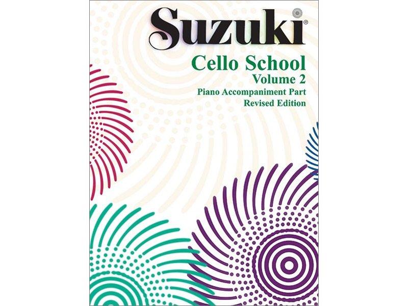 Suzuki Cello School Volume 2 - Piano Accompaniment