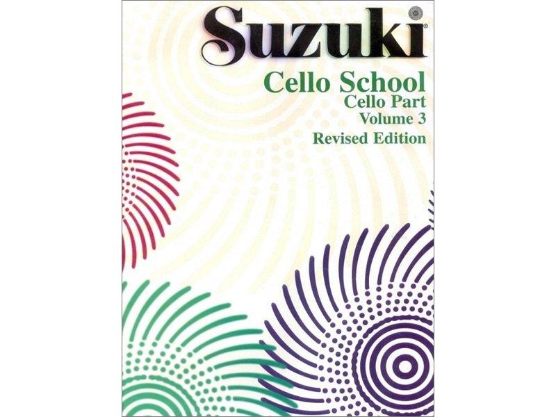 Suzuki Cello School Volume 3 - Revised Edition