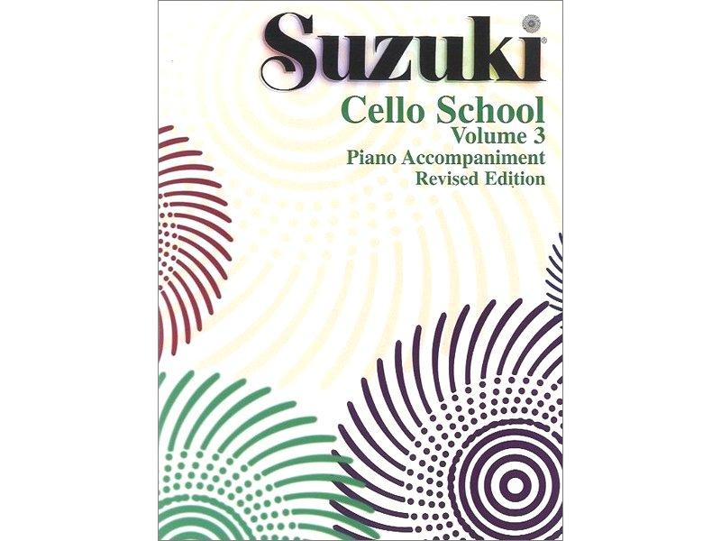 Suzuki Cello School Volume 3 - Piano Accompaniment