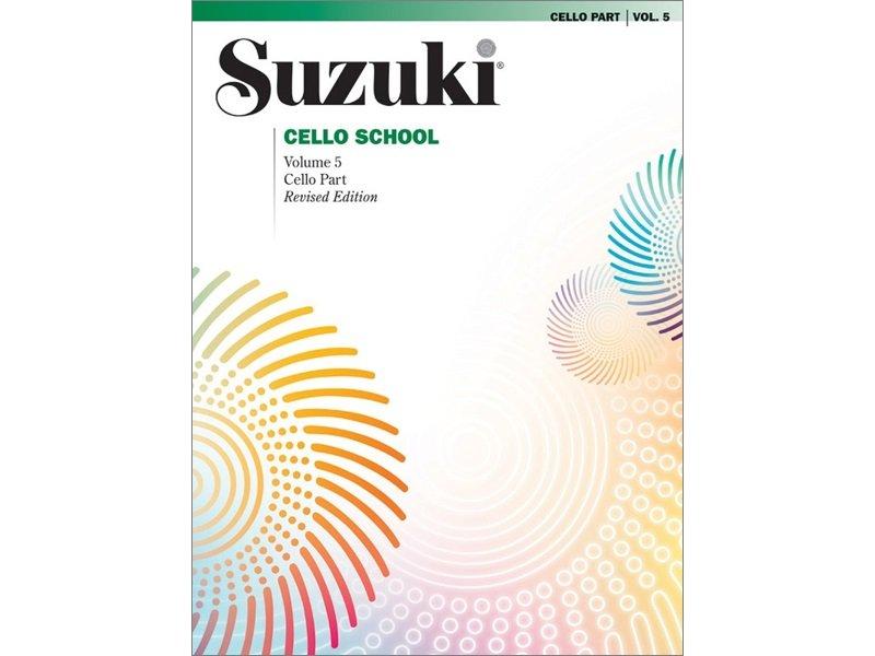 Suzuki Cello School Volume 5 - Revised Edition