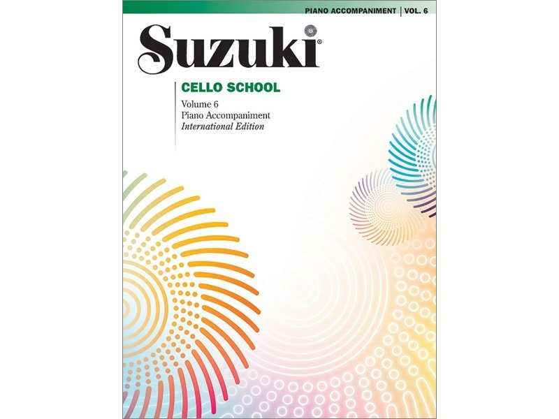 Suzuki Cello School Volume 6 - Piano Accompaniment
