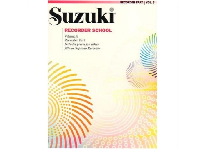 Suzuki Recorder School Volume 5 - Alto or Soprano