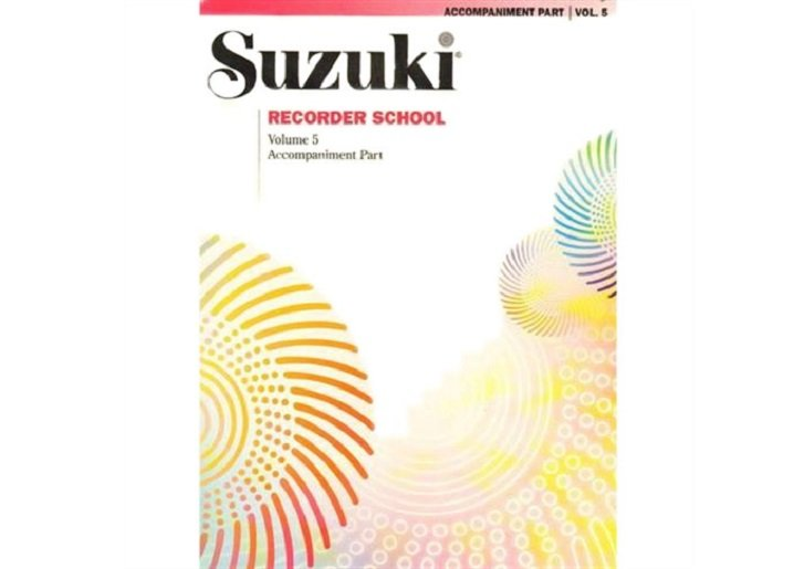 Suzuki Recorder School Volume 5 - Piano Accompaniment