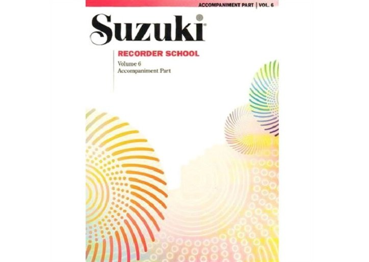 Suzuki Recorder School Volume 6 - Piano Accompaniment