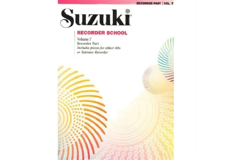 Suzuki Recorder School Volume 7 - Alto or Soprano