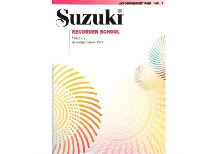 Suzuki Recorder School Volume 7 - Piano Accompaniment