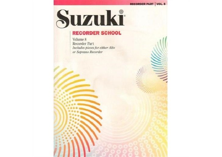Suzuki Recorder School Volume 8 - Alto or Soprano