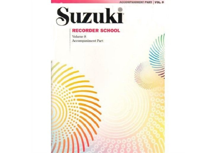 Suzuki Recorder School Volume 8 - Piano Accompaniment