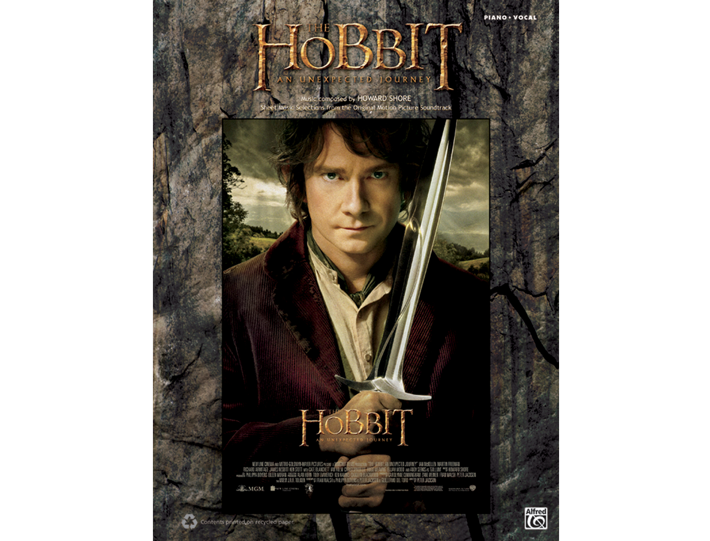 The Hobbit: An Unexpected Journey Piano/Vocal/Guitar