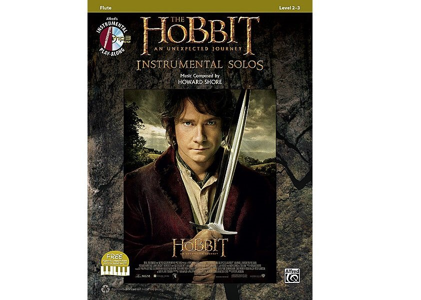 The Hobbit: An Unexpected Journey Instrumental Solos - Flute