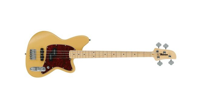 Ibanez TMB100M MWF Maple Neck Talman Electric Bass, Mustard Yellow Flat