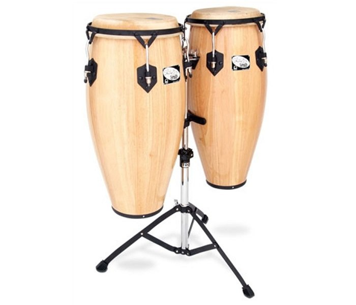 Toca Player's Series Sheila E. 10 and 11 Conga Set with Stand