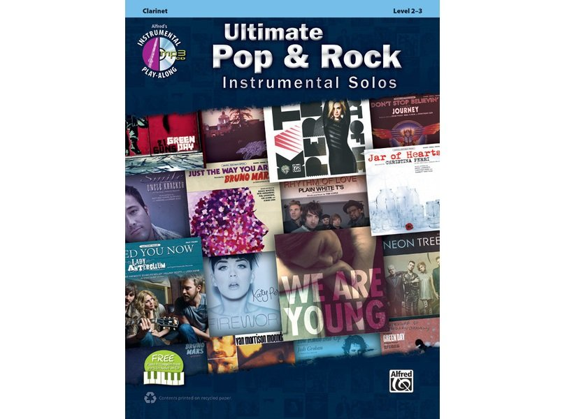 Ultimate Pop & Rock Instrumental Solos - Clarinet