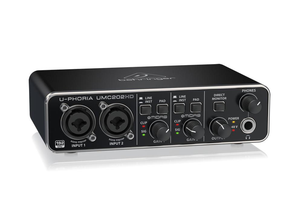Behringer UMC202HD USB Audio Interface