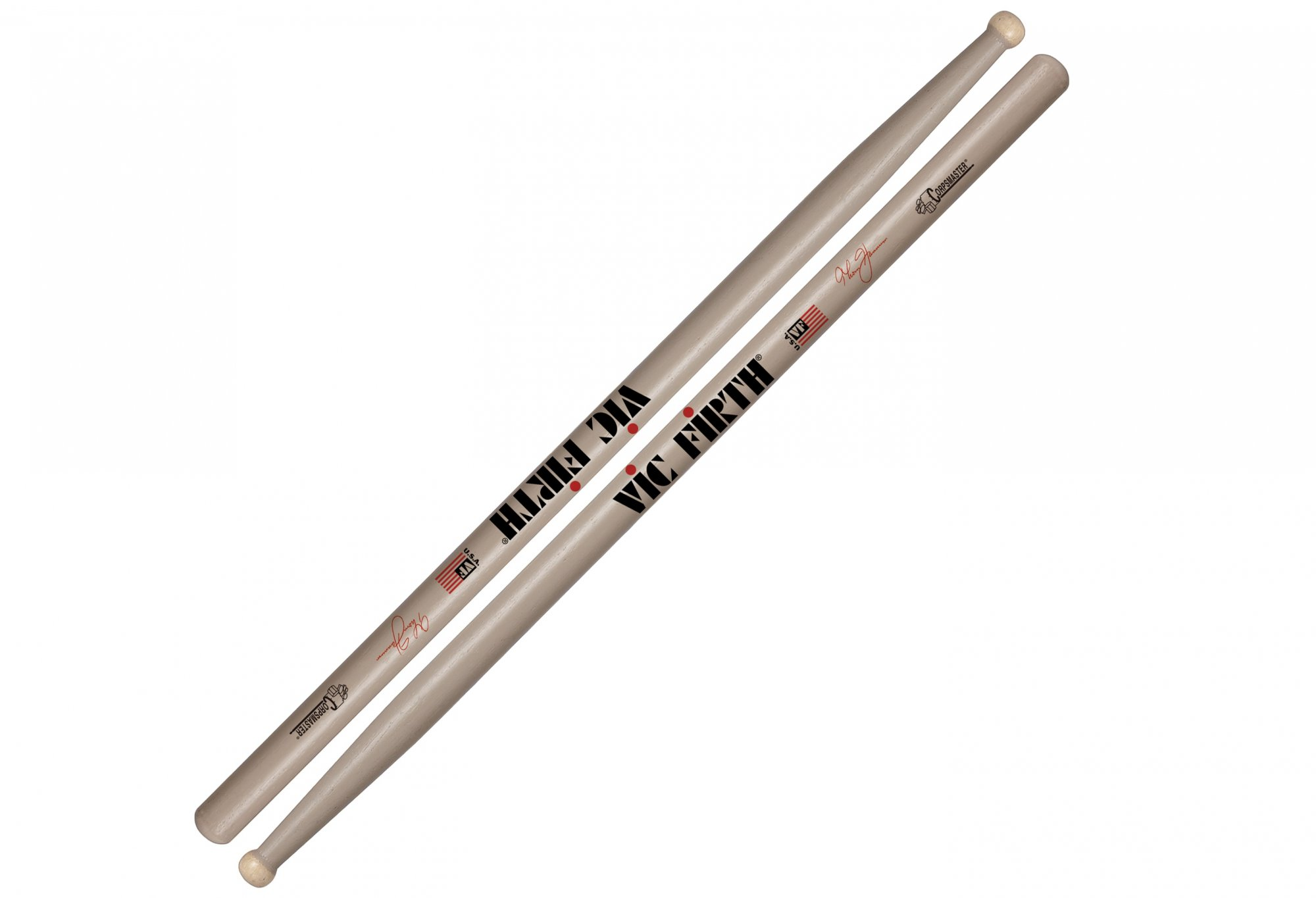 Vic Firth Thom Hannum Corpsmaster Marching Snare Sticks
