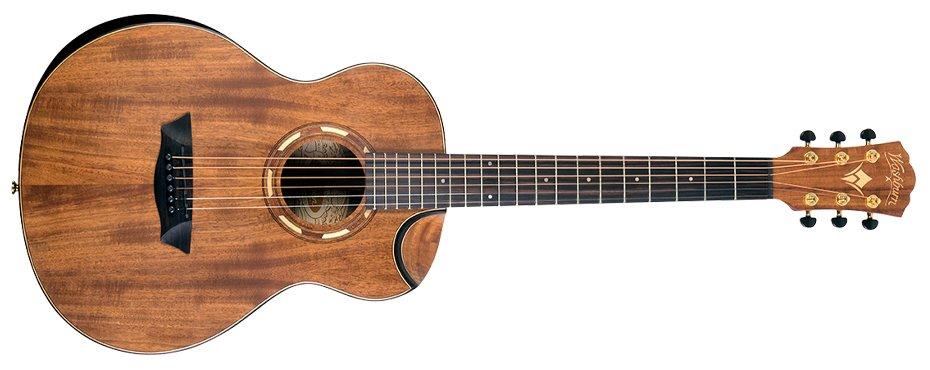 Washburn WCGM55K-D Comfort Series Grand Auditorium Acoustic Guitar  - copy