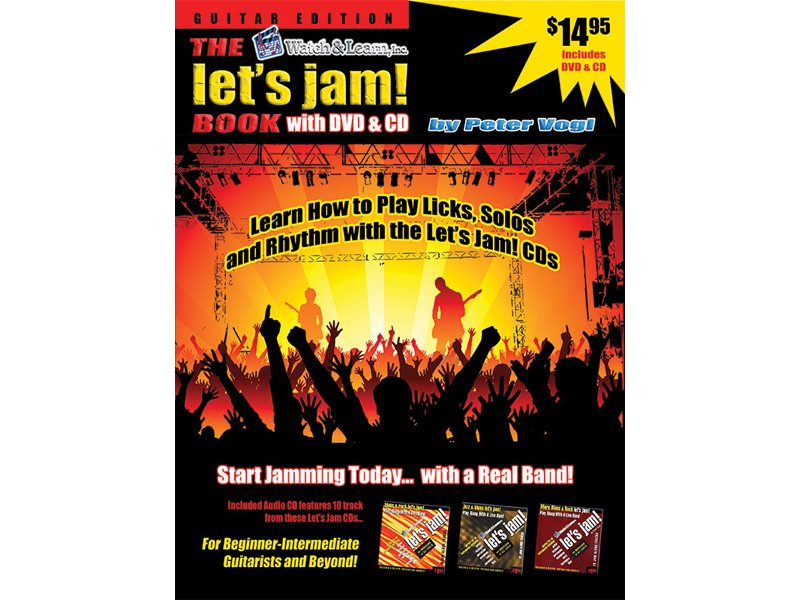 Watch & Learn The Let's Jam Book