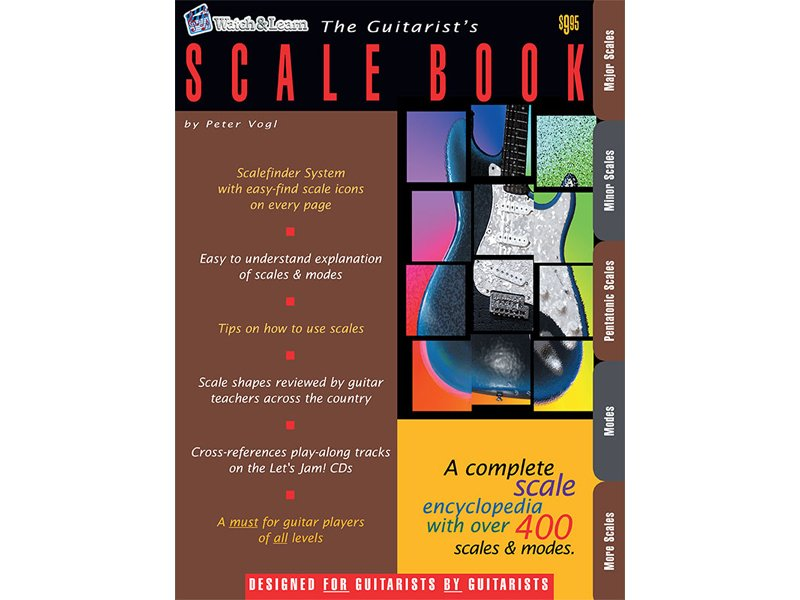 Watch & Learn The Guitarist's Scale Book - 695932857343