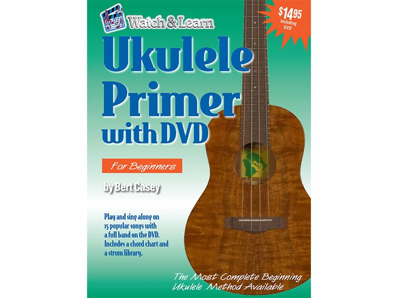 Watch & Learn Ukulele Primer with DVD