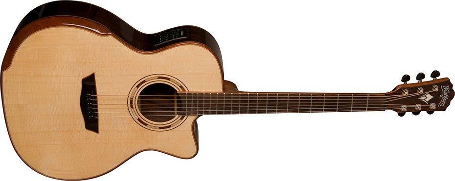 Washburn WCG25SCE-O Comfort Series Grand Auditorium Acoustic Electric Guitar