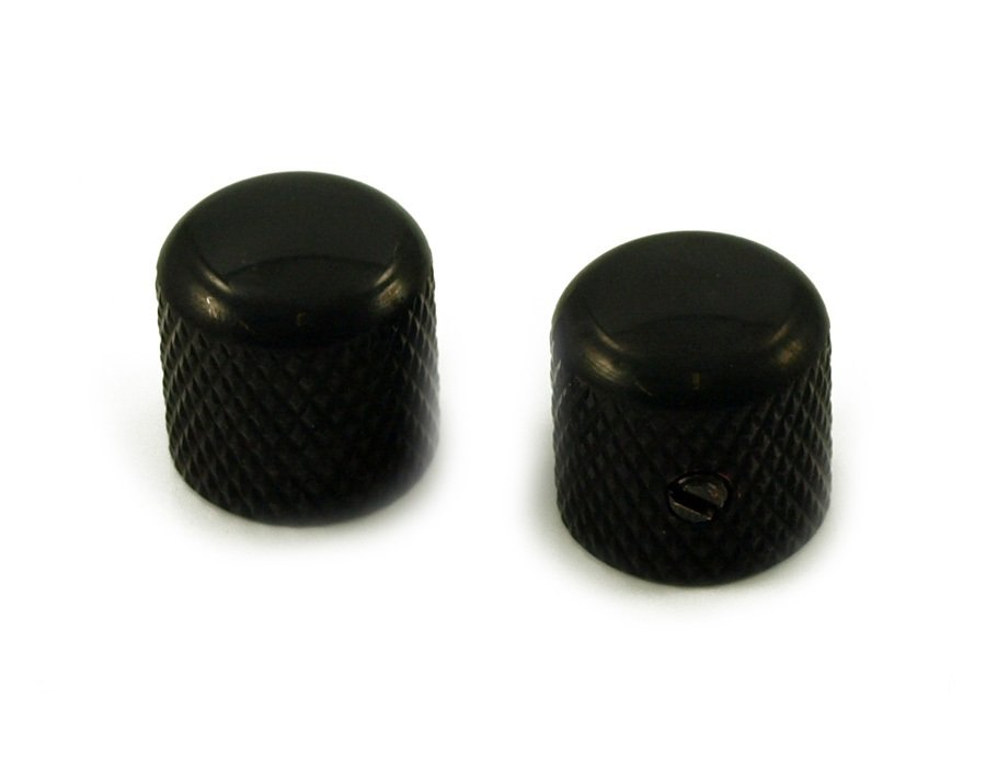 WD Dome Knob 2-Pack, Black