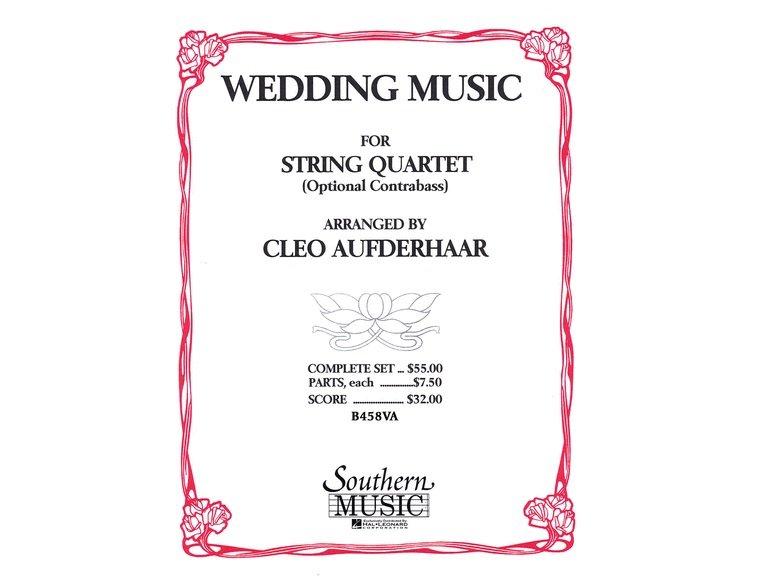 Wedding Music for String Quartet - Cello