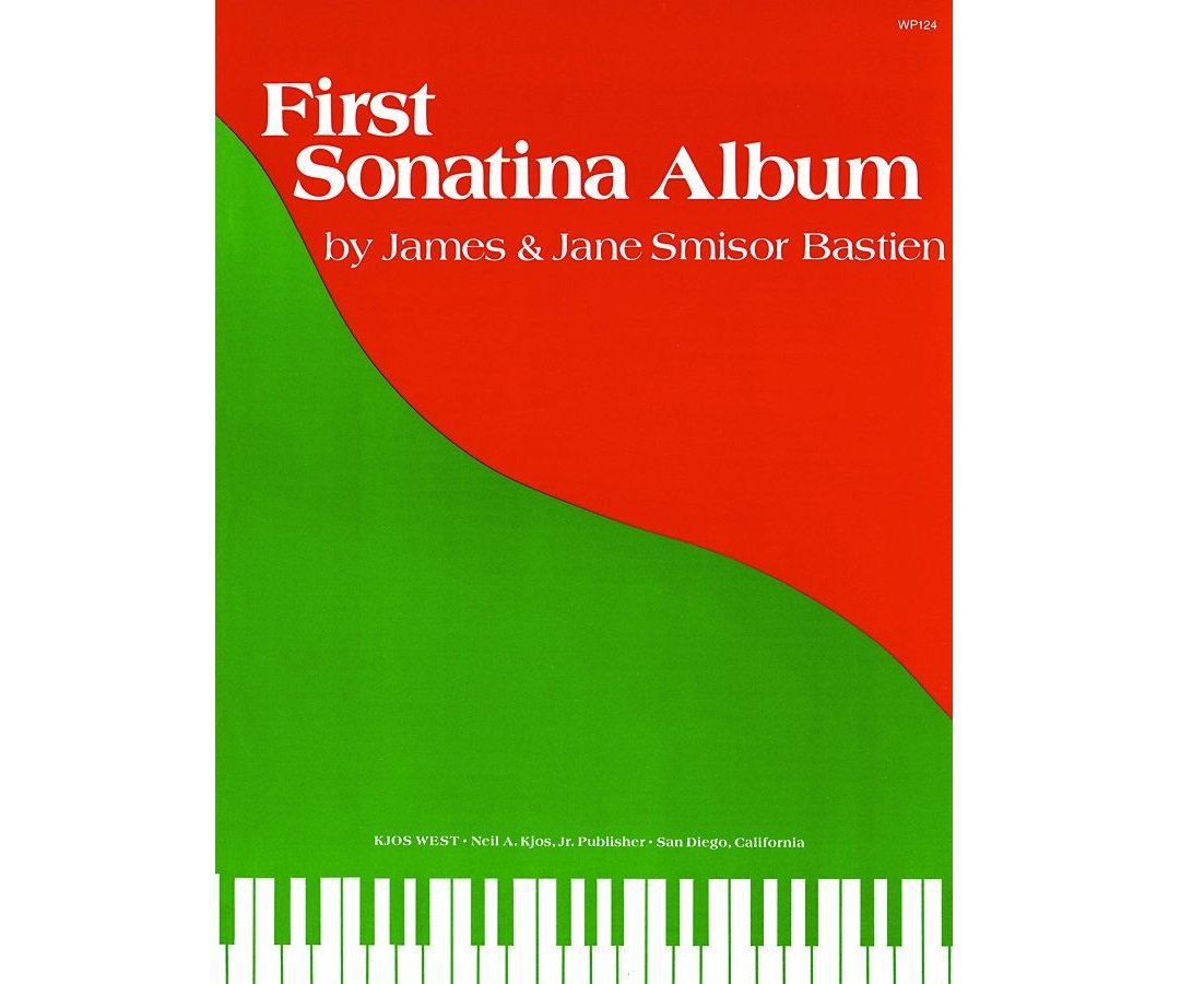First Sonatina Album by James & Jane Smisor Bastien