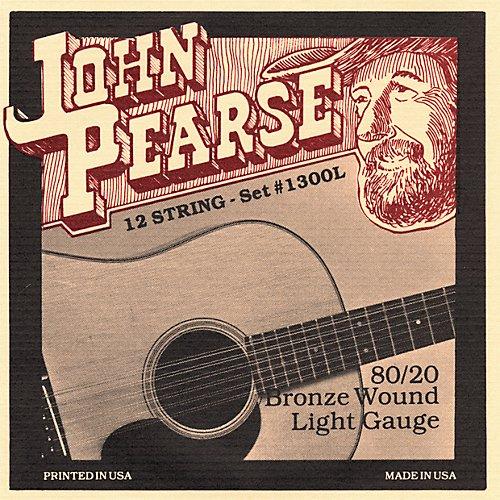 John Pearse 80/20 Bronze Acoustic Strings