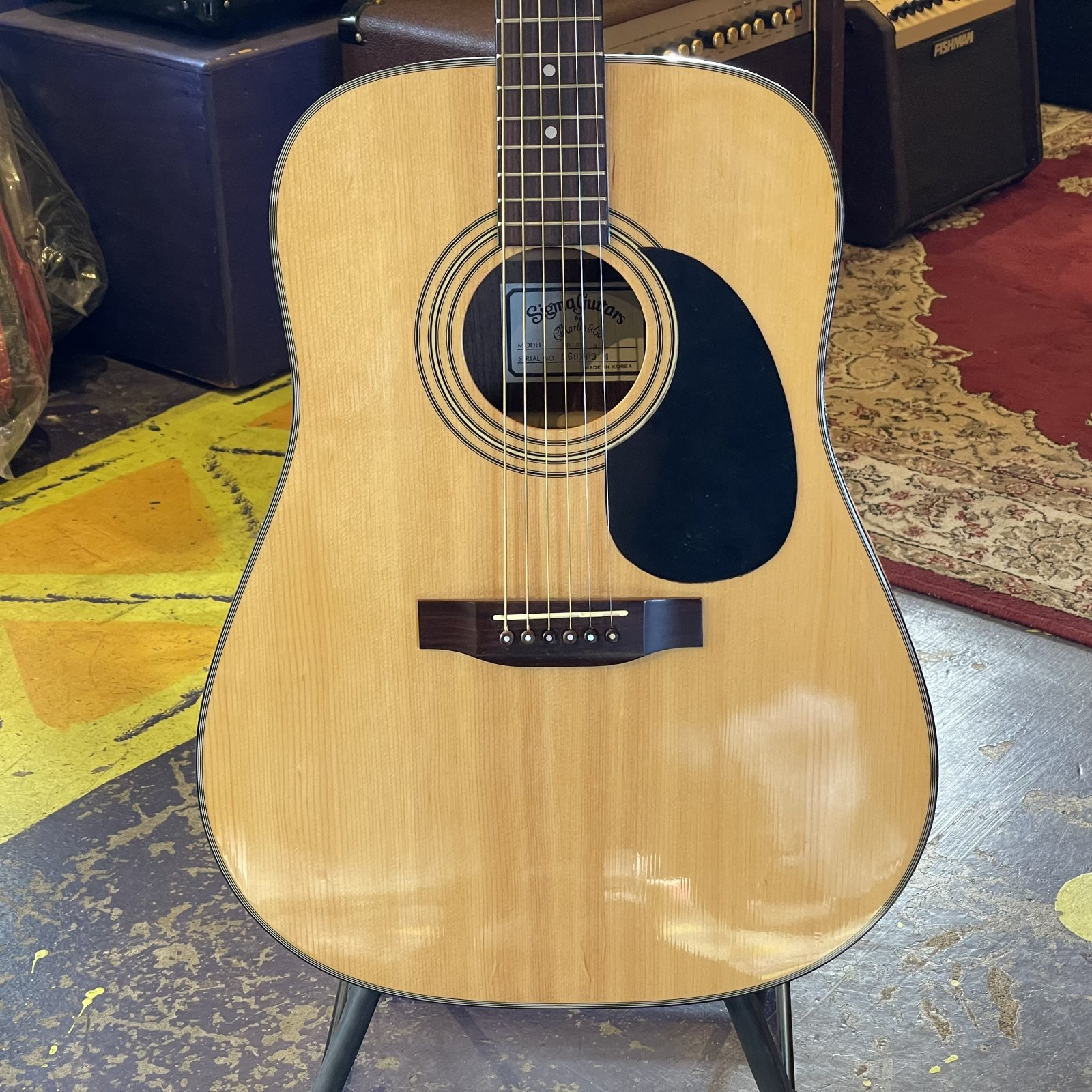Sigma by Martin DR1ST Acoustic w/HSC