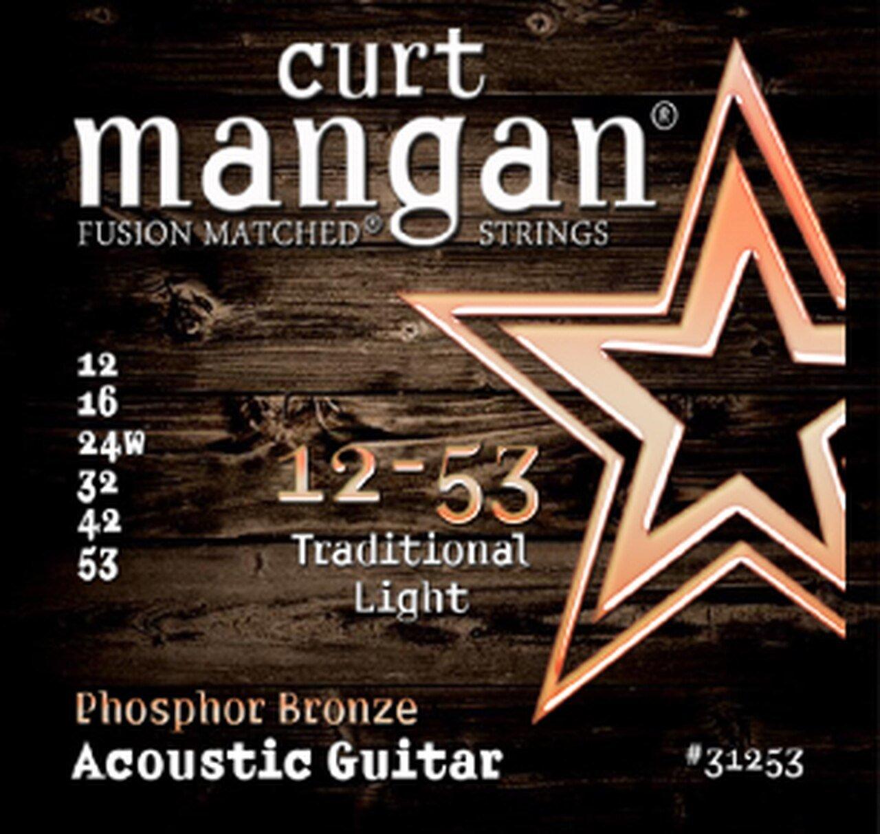 Curt Mangan Acoustic Phosphor Bronze Strings