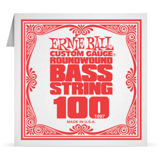 Ernie Ball Nickel Wound Electric Bass Single Strings