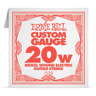 Ernie Ball Nickel Wound Electric Single Strings
