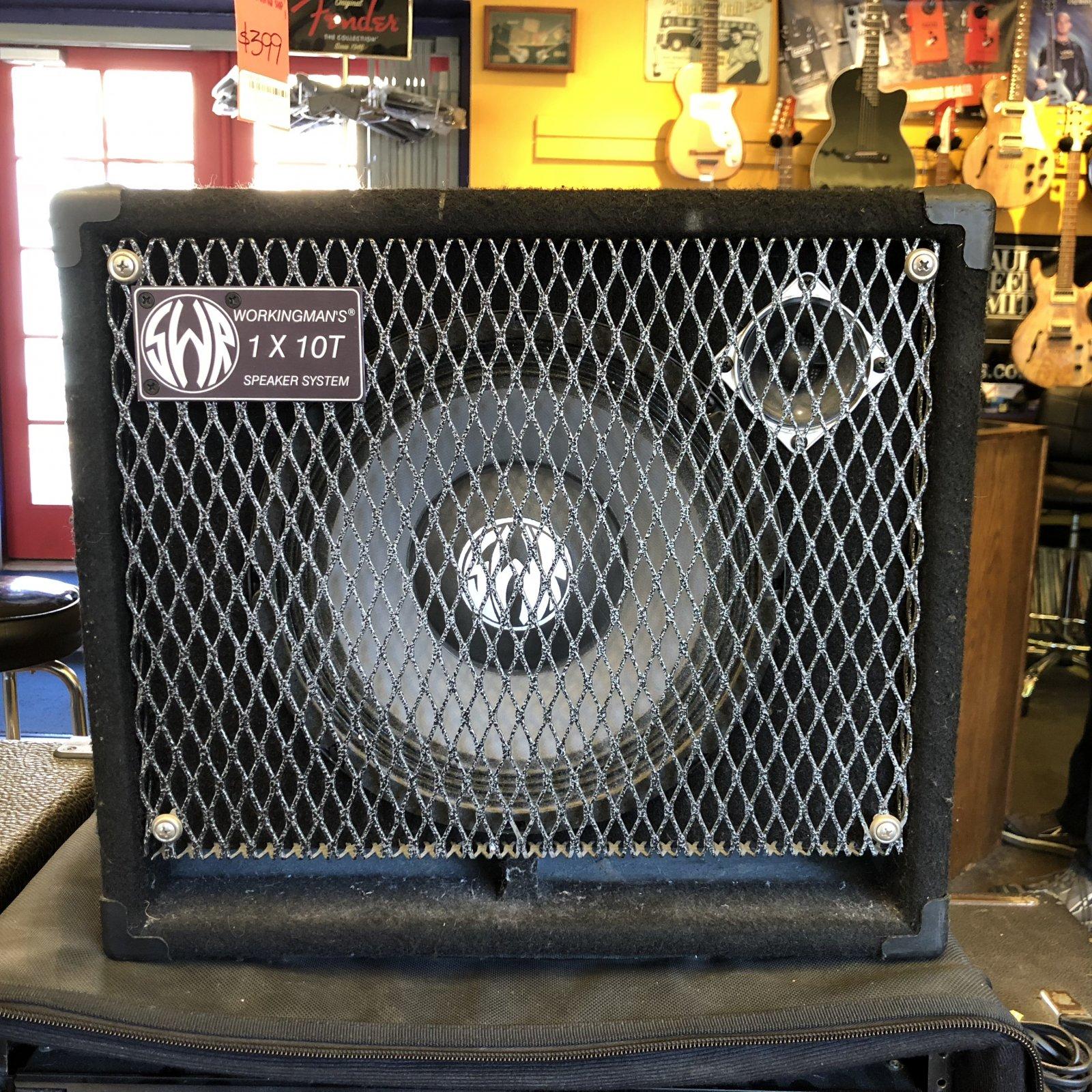 Used SWR Workingman 1x10T Bass Cabinet