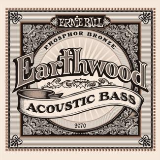 Ernie Ball Earthwood Acoustic Bass Phosphor Bronze
