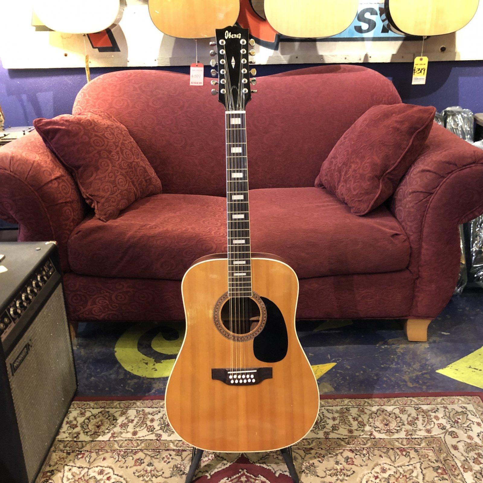Used Ibanez 628-12 12-String Acoustic
