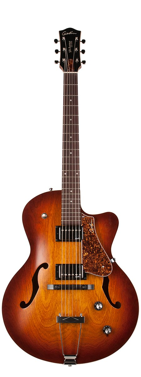 Godin Guitars 5th Avenue CW Kingpin II HB