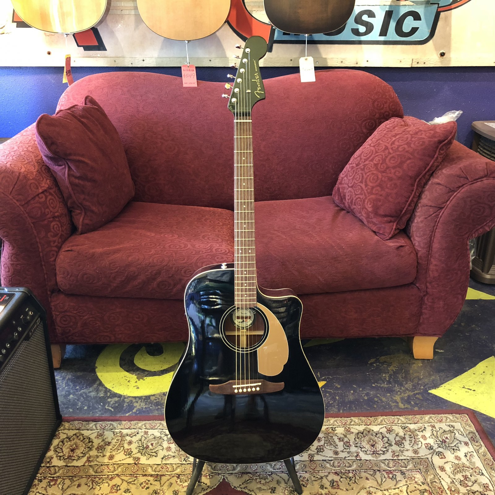 Fender California Redondo Player Acoustic Electric