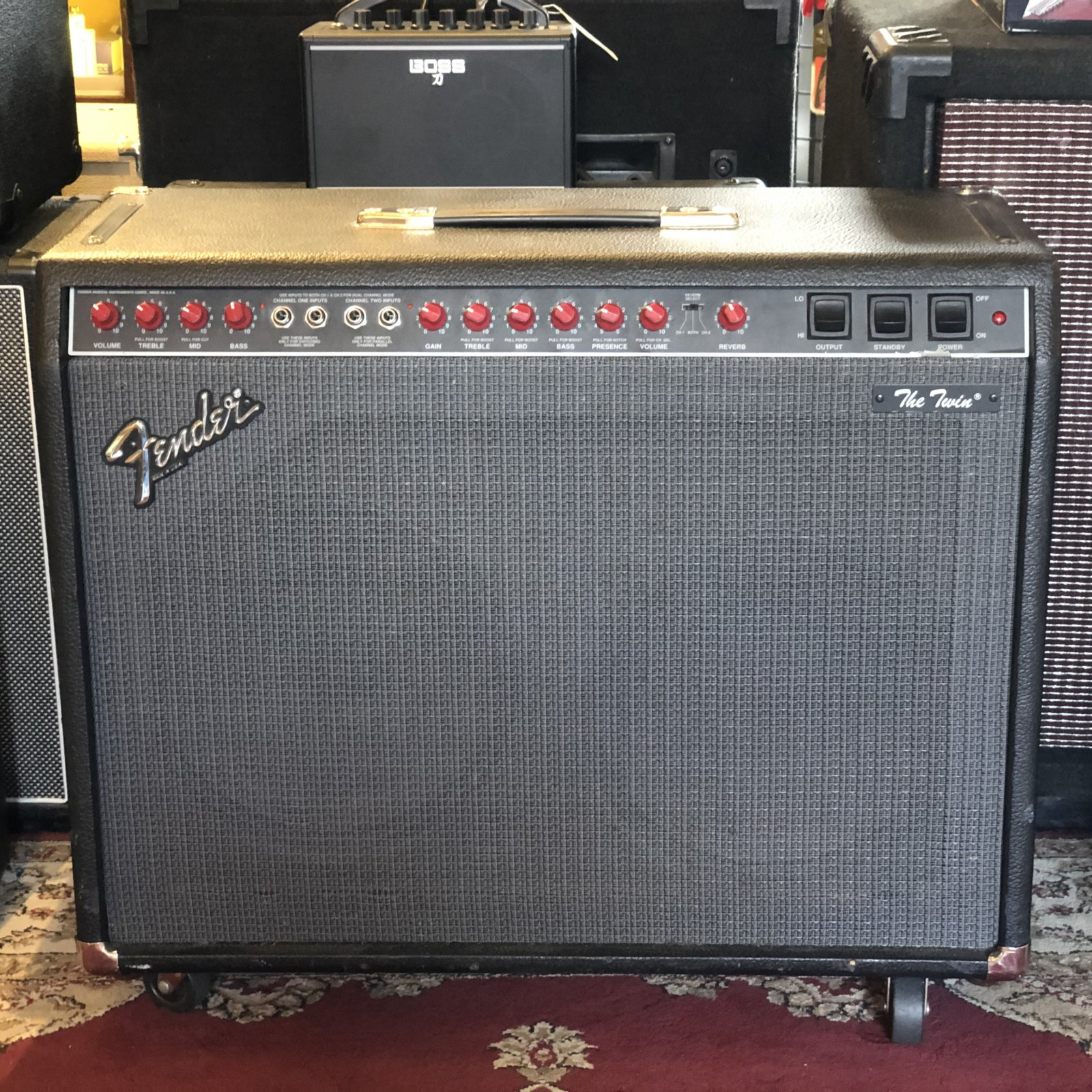 Fender The Twin 2 Channel 100W 2x12 Combo