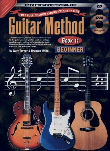 Progressive Beginning Guitar 1 Book/DVD