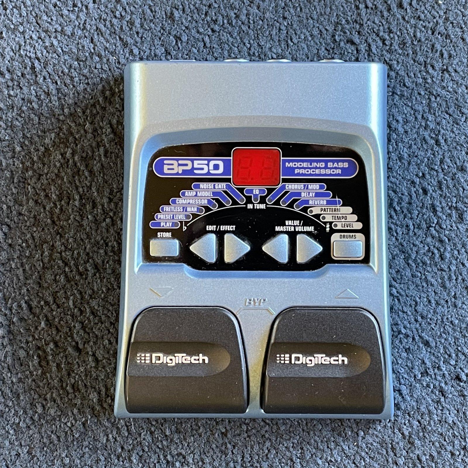 DigiTech BP50 Modeling Bass Processor