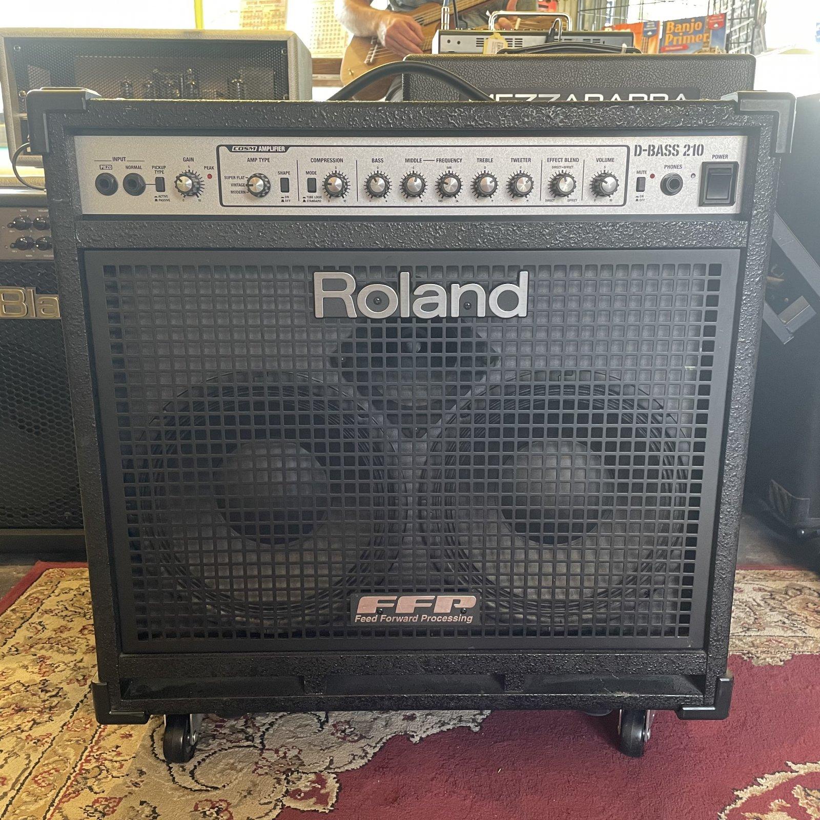 Roland D-Bass 210 Combo Amplifier