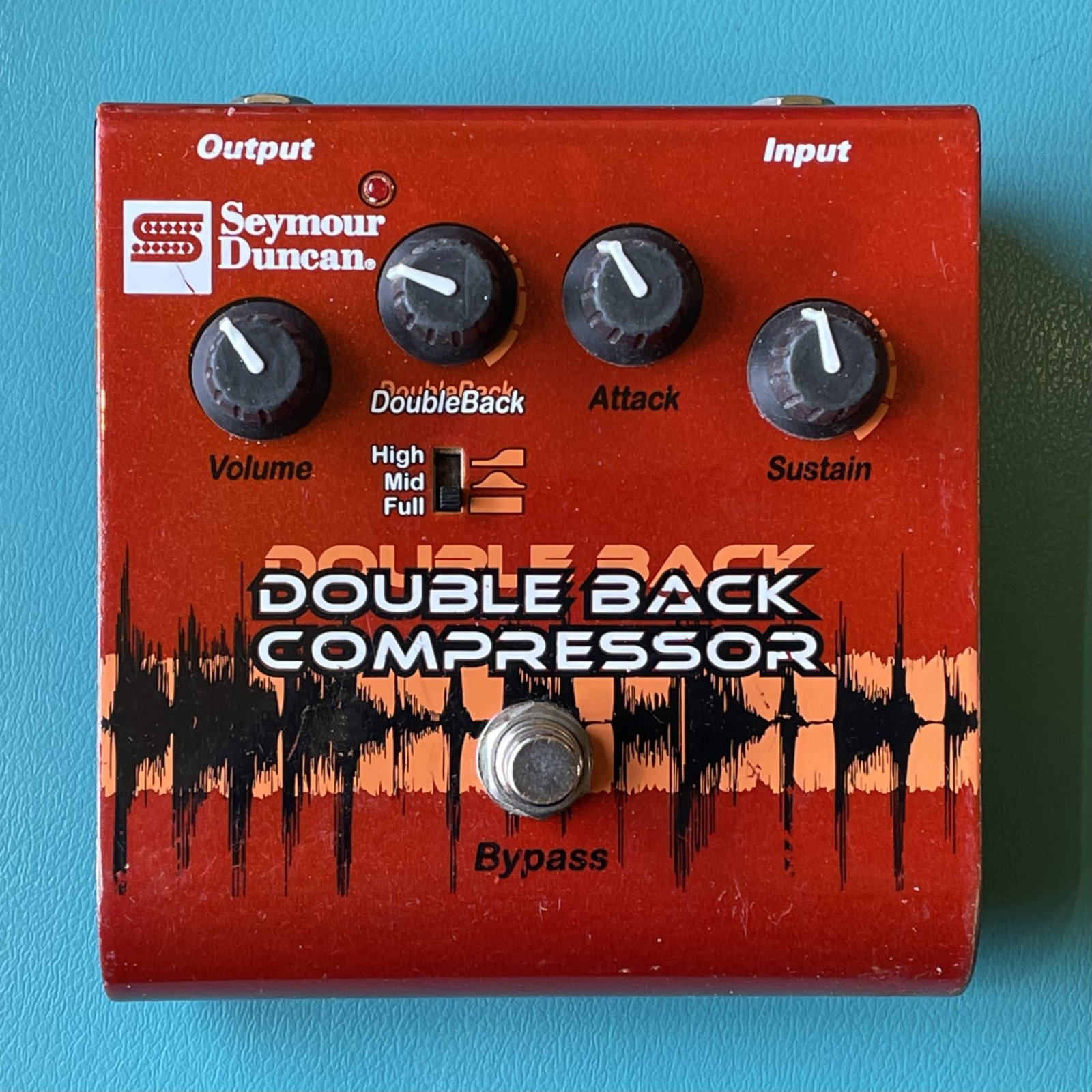 Seymour Duncan SFX-09 Double Back Compressor